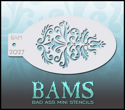 Bam's 2027, Decorative Swirls