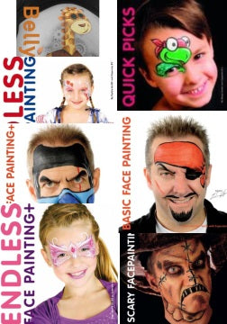 8 Facepainting Books