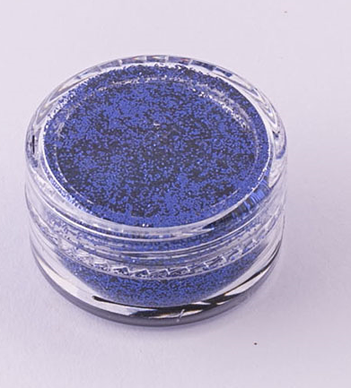 Ybody, Metallic Dark Blue, Glitter, 5g