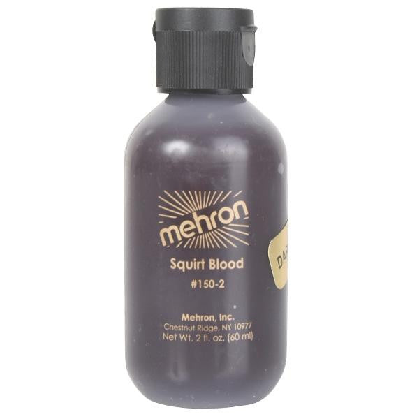 Mehron, Blood, Squirt, Dark Venous, 0.5oz