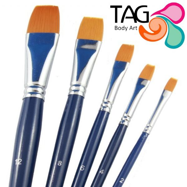 Tag Brush, Flat No 8