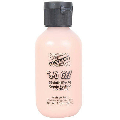 Mehron 3-D Gel, Flesh 2oz