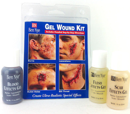 Ben Nye Effect Gel Wound Kit