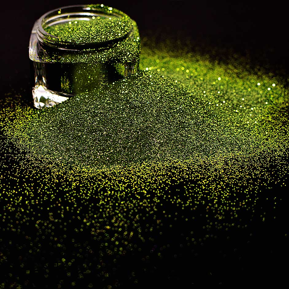 Carnival Glitter, Green Willow 15g