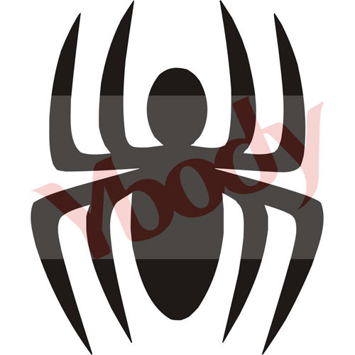 Tattoo Stencil, Spider