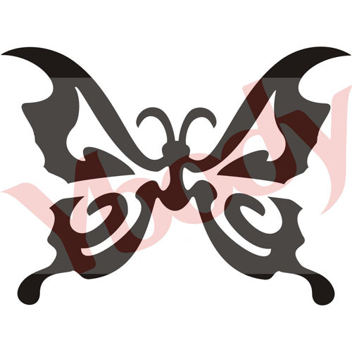 Tattoo Stencil, Butterfly Art