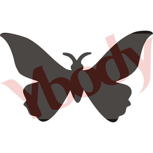 Tattoo Stencil, Butterfly