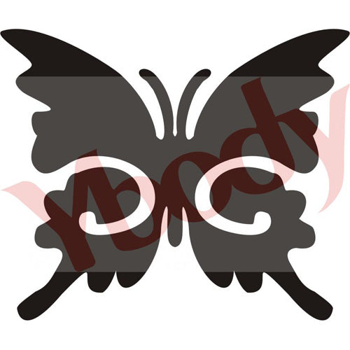 Tattoo Stencil, Butterfly Small