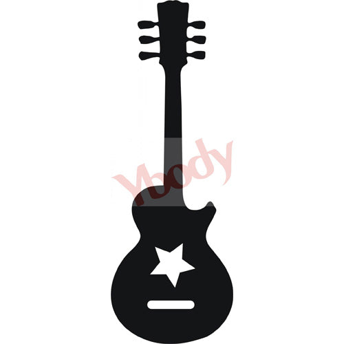 Tattoo Stencil, Guitar