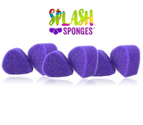 Splash Sponge, Tear Drop, 6pc