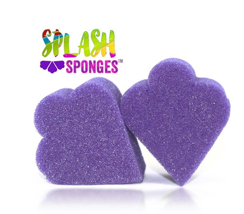 Splash Sponge, Wing, 2pc