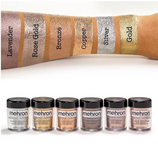 Mehron, Metallic Powder & Liquid, Gold