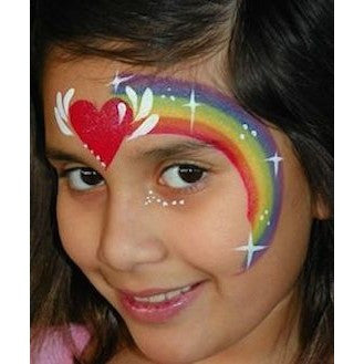 Tag Split Cake Neon Rainbow Magicbox Facepaints