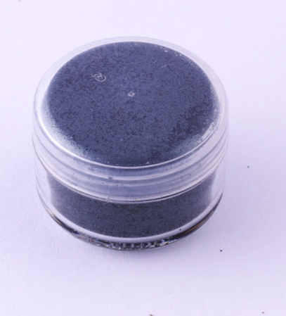 Ybody, Pure Ultimate Black, Glitter, 5g