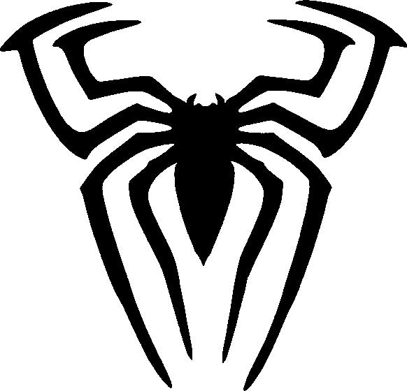 Tattoo Stencil, Spiderman Spider