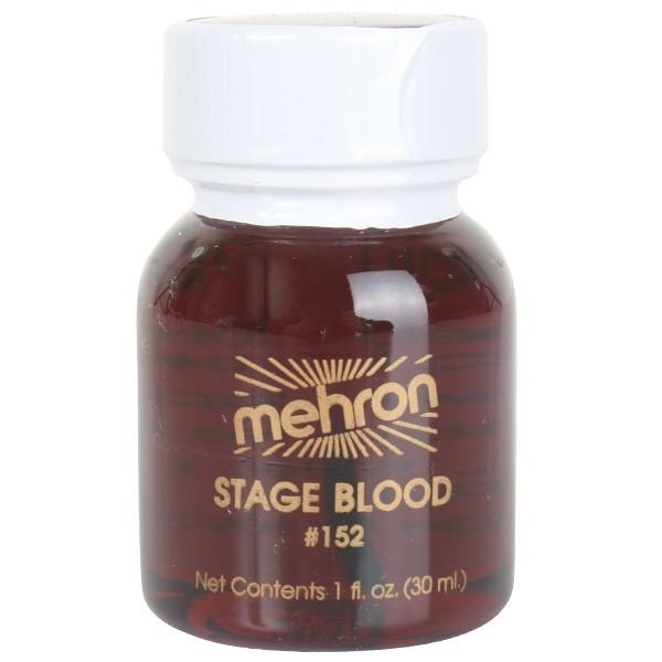 Mehron, Stage Blood, Bright, 1oz
