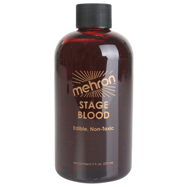 Mehron, Stage Blood, Bright, 9oz