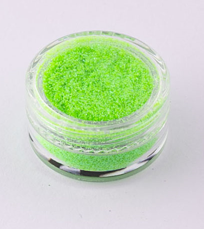 483 Crystalline UV Green, Glitter