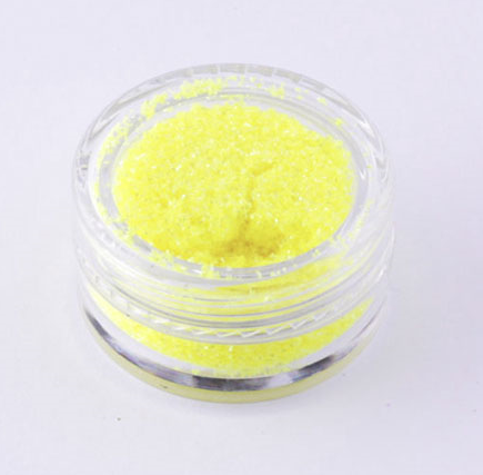 482 Crystalline UV Yellow, Glitter