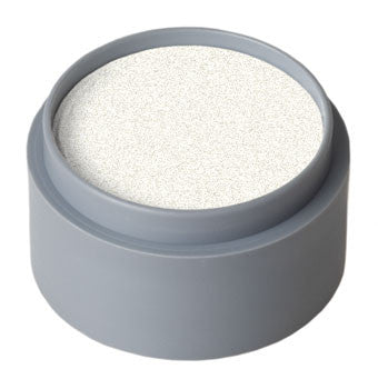 Grimas Pearl Face Paint, Light Silver