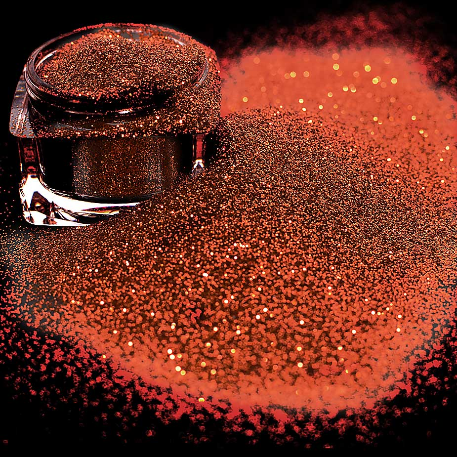 Carnival Glitter, Yellow Copper 15g