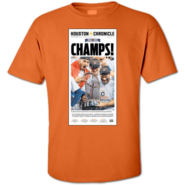 Exclusive Astros' World Series Championship T-Shirts - YOUTH