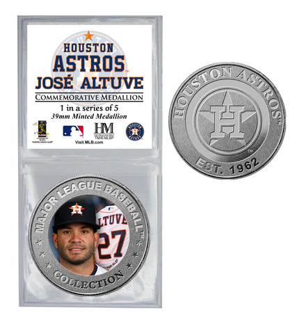 All Star Astros Coin - Jose' Altuve