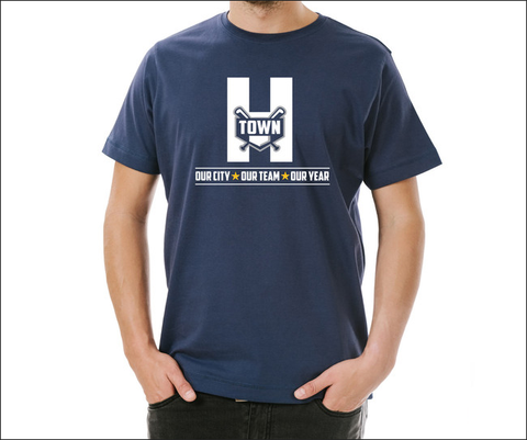 "H-Town ""We Got This"" Baseball T-Shirt"