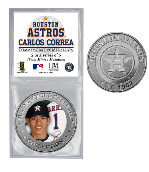 All Star Astros Coin - Carlos Correa