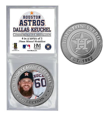 All Star Astros Coin - Dallas Keuchel