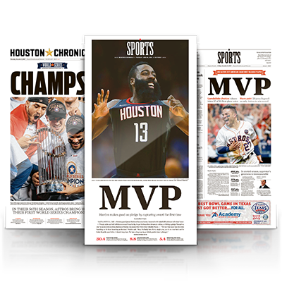 MVP Collection High Gloss Frameable Set Plus A One Year Texas Sports Nation Subscription