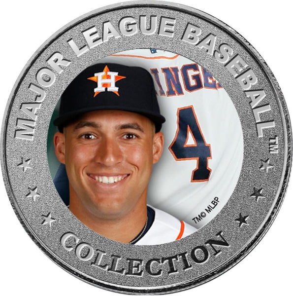 Limited Edition MLB Licensed Astros Collector Coins