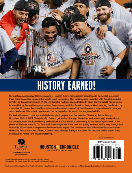 Astros Championship Tribute Book
