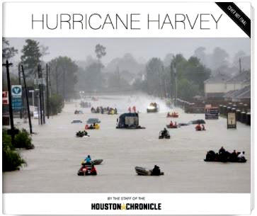 Hurricane Harvey Hardcover Book