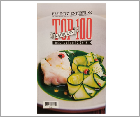 Alison Cook's Top 100 Restaurants - Beaumont - 2016