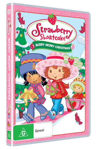 Strawberry Shortcake - A Berry Merry Christmas
