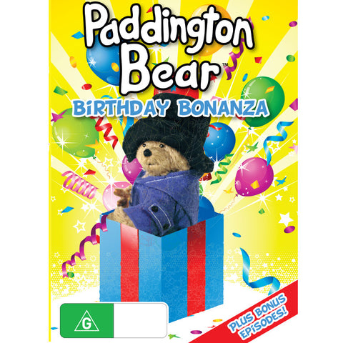 Paddington Bear Birthday Bonanza