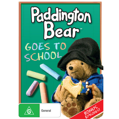 Paddington Bear Goes to School