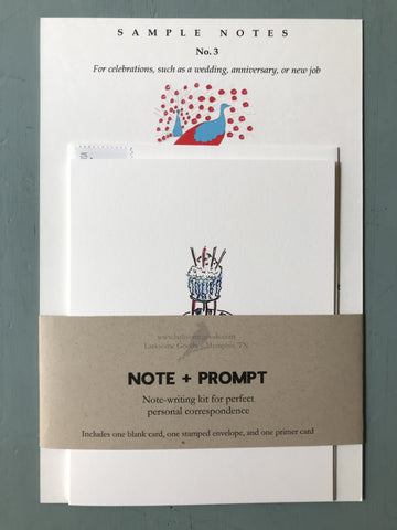 Note+Prompt: Happy celebrations