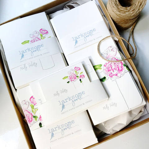 Personalized Stationery Wardrobe