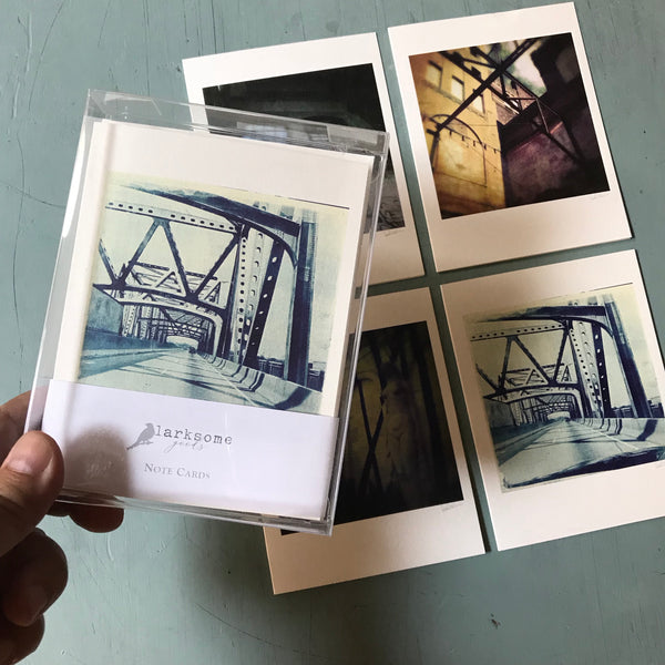 Memphis series note cards