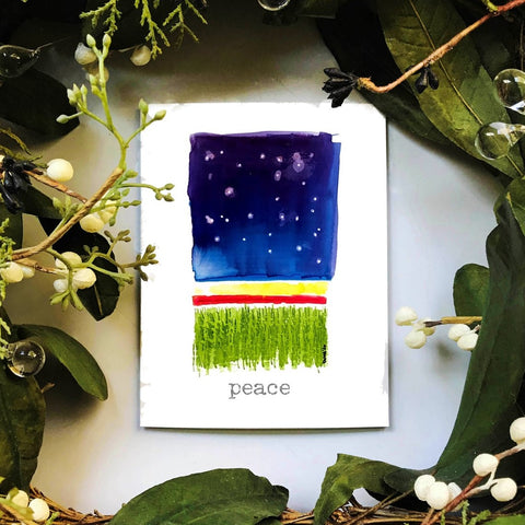 NEW! starry sky peace
