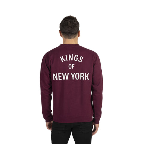 Burgundy Kings of New York Sweatshirt
