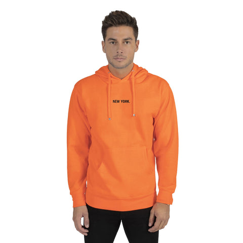 Neon Orange New York Hoodie