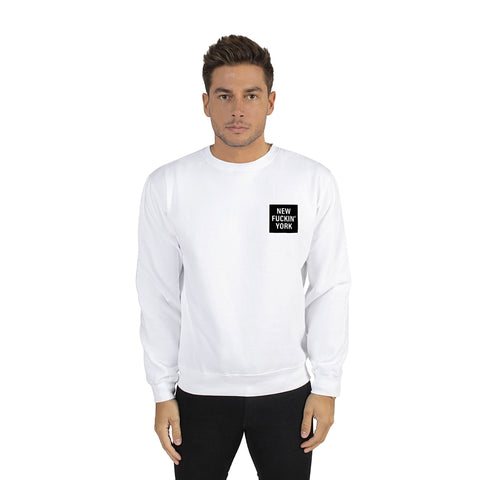 White New Fuckin' York Sweatshirt