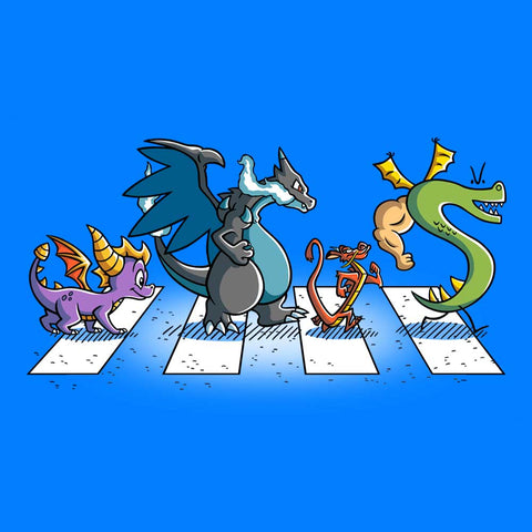 Dragons on Abbey Road