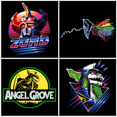 Entire Angel Grove Collection