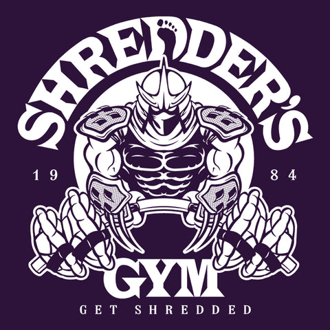 Shredder's Gym