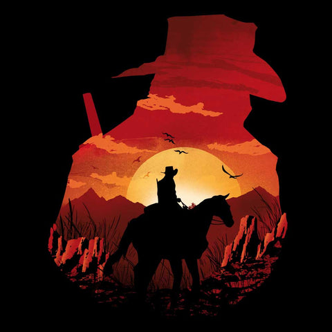 Red Dead Sunset