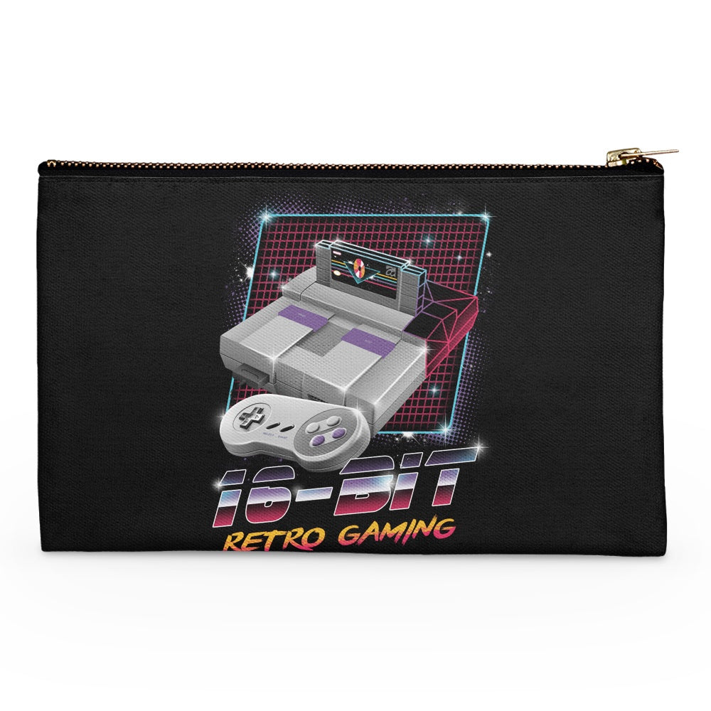 16-Bit Retro Gaming - Accessory Pouch